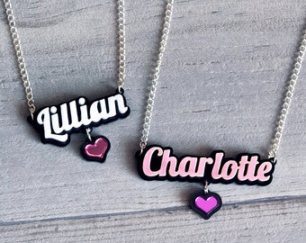 Custom Necklace (Many Colours Available!)