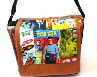 Star Trek Leather Messenger Bag