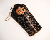 """RESERVED for Carol 20 % off! The Original Blythe Sleepsack from PINKKIS: """"KIREI"""" Handmade Protective Carrying Pouch"""