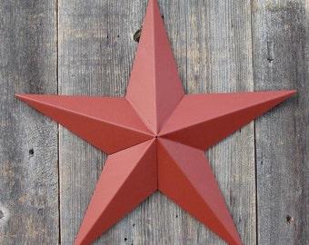Barn Star- Barn Red 10 inches