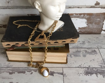 Vintage Necklaces - Coventry - Heavy Chains - 12 inch 10 inch