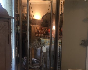 Lovely Mirrored Armoire Cabinet