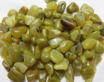 3 Olive Green Opal Healing Stones Healing Crystals Chakra Meditation Reiki Energy