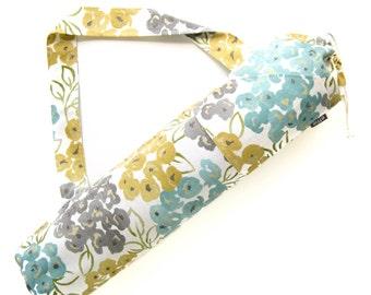 Yoga Mat Bag. Yoga Gift. Modern Floral Yoga Bag. Yoga Mat Tote. Yoga Mat Carrier. Yogi Gift Idea for Her. Yoga Gear. Yoga Accessories
