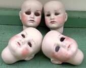Creepy Vintage Doll Head Bisque Doll Head Kammer Reinhardt Mold 114 Halloween Decorating