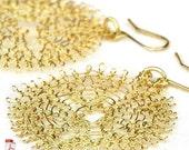 20% OFF - Wire crochet flower PDF pattern tutorial YoolaFlower handmade how to crochet earrings pattern crochet ebook