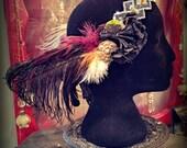 Fleurann Headdress - Art Deco/Nouveau Fantasy Faerie Tribal Fusion