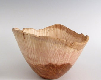 Wood Turned Wood Bowl - Small Elm Burl Wood Turned Bowl - Wood Bowl - Hand Turned Wood Bowl - Wedding Gift - Anniversary Gift