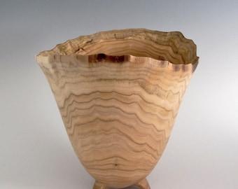 Natural Edge Butternut Wood Turned Bowl - Wedding Gift - Birthday Gift - Housewarming Gift - Wooden Bowl - Wood Turned Bowl