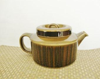vintage arabia of finland kosmos teapot with infuser midcentury modern
