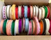 Ribbon Multicolored Spools Supplies 31 spools