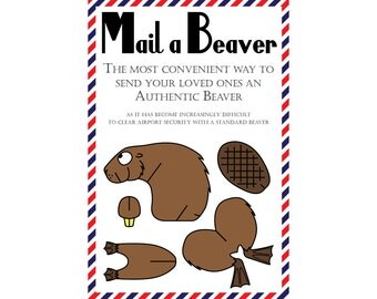 "Shop ""beaver"" in Paper & Party Supplies"