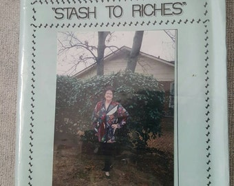 Stash to riches jacket pattern by Kay Bryant