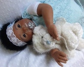 RESERVED - Custom AA Biracial Ethnic BIG Reborn Baby
