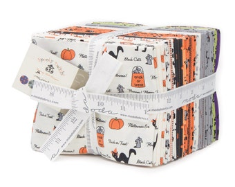 Spooky Delights by Bunny Hill for Moda (2900AB) - Fat Quarter Bundle (30 FQ's)
