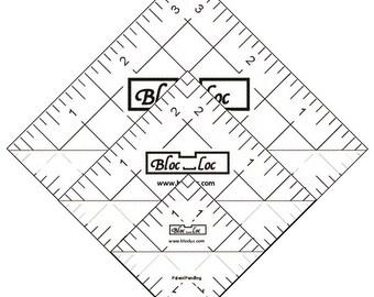 "Half Square Triangle Ruler Set 4 -  Set includes: 1.5"", 2.5"", 3.5"" HST rulers"