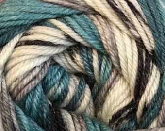 Philadelphia Cascade Heritage Prints Yarn 437 yards Super Fine Wool Nylon Sock Yarn Color 38