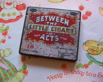 between the acts little cigar tin