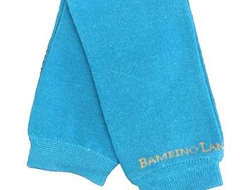 Organic Baby Leg Warmers Celestial Blue