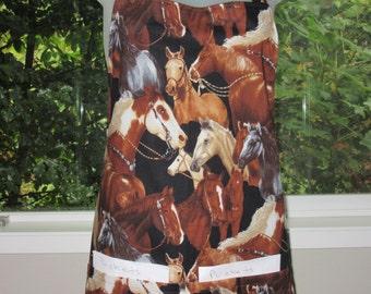 Womens Aprons - Aprons for Women - Full Aprons - Beauty of Horses