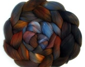 Roving Targhee Handdyed Combed Top - Hidden Depths, 5.3 oz.