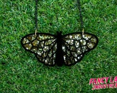 Blue Tiger Butterfly Necklace