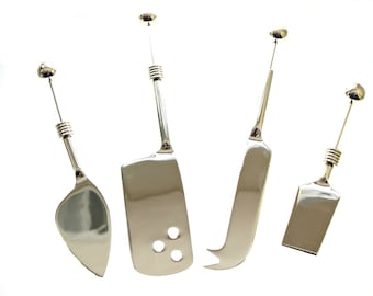 Beadable Cheese Knife Set