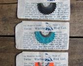 "40% OFF SALE // vintage c. 1950s NOS Swiss Warbler Bird Call, ""prairie whistle"", ""double throat"""