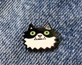 Hard Enamel Lapel Pin Cat