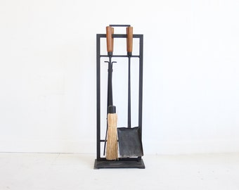 Modern Fireplace Tools Holder
