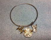 Wonder Woman Bangle Bracelet
