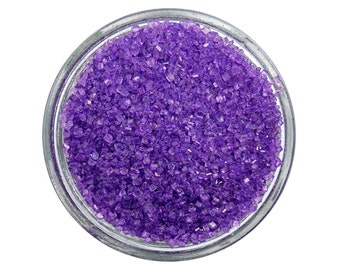 Lavender Sanding Sugar - purple sprinkles for decorating cupcakes, cakes, cakepops, and cookies