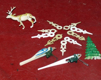 Cuckoo Clock Birds - Clock Hands - Deer - Tree - Clock Project Pieces