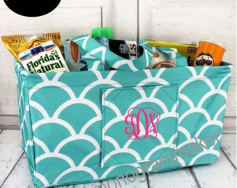 Personalized Collapsible U-Haul-It Basket Tote
