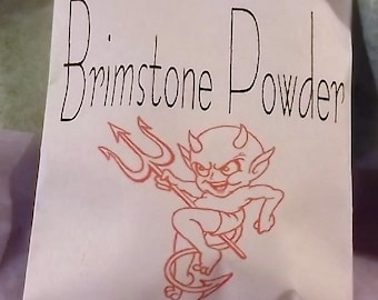 Brimstone - 1 Oz. - Protection - Hexing