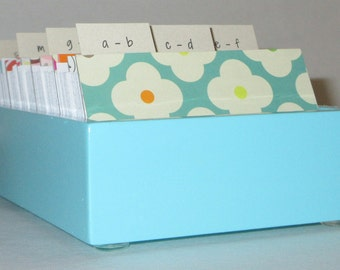 SALE PRICED...LIMITED timeBusiness Card File/ Address Card File With Colorful Dividers