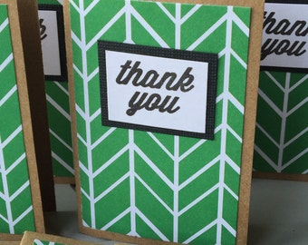Mini Thank You Notes - set of 12