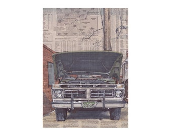 Ford No.1 art print