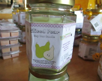 Sliced Pear Soy Wax Candle 300g