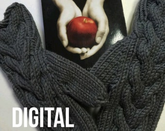 Digital Download Pattern Twilight Inspired Bella Mittens