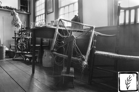 """Spinning Wheel,"" Conklin House, Huntington NY, 2015."