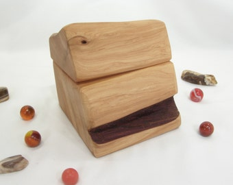 Oregon Juniper Wood, Oregon High Desert, jewelry box, 5th wedding anniversary, wood anniversary, storage box, blessing box, small pet urn