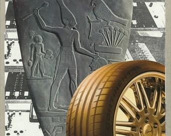 Original Collage Palette of Narmer Tire