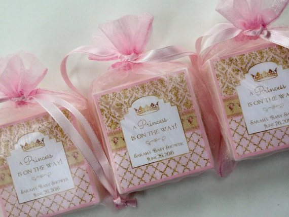 baby shower favors baby girl princess theme soap favors set of 10