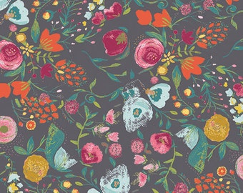 Budquette Nightfall Emmy Grace - Bari J. - Art Gallery Fabric - 100% Quilters Cotton Available in Yards, Half Yards and FQ's EMG-5607
