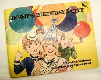 Jenny's Birthday Party - 1979 - sweet story