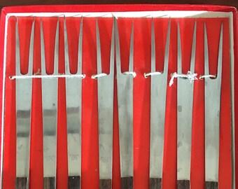 Rosewood Fondue Forks - set of 8