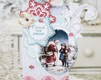 Celebrate the Season...Handmade Tag