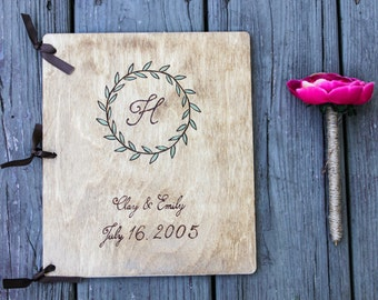 Wedding Guest Book, Wedding Guestbook, Rustic Guest Book, Rustic Guestbook, Wooden Guest Book, Unique Wedding guest book