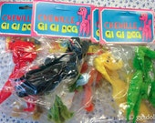 Reserved Listing Vintage Mint in Package Chenille GiGi Dog Six Pieces Barbie Size